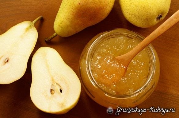 Варенье из груш (2)