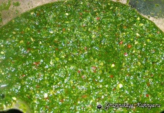 Зеленая острая аджика (2)