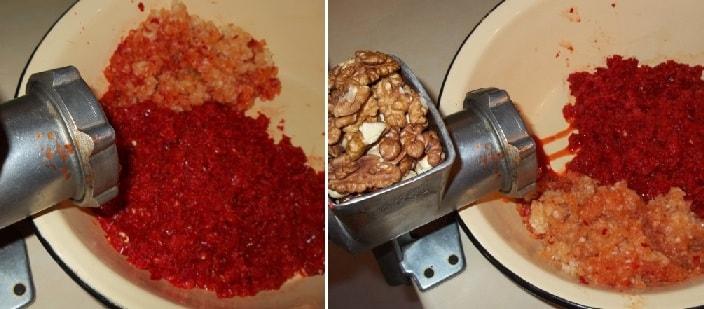 Аджика с грецкими орехами. Рецепт по-грузински (7)