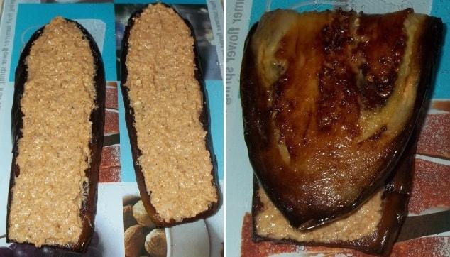 Баклажаны по-грузински с орехами и специями (2)