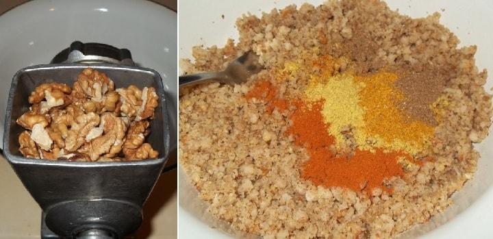 Сациви с цветной капустой по-грузински