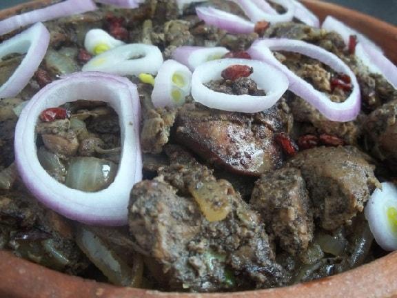 Чашушули из куриной печени по-грузински (5)