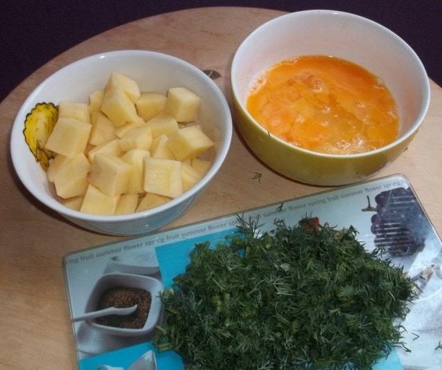 Грузинский суп с мацони. Рецепт (8)