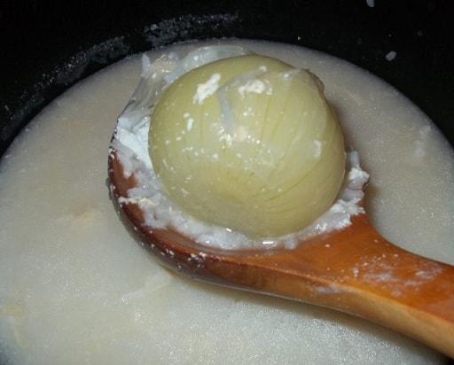 Грузинский суп с мацони. Рецепт (9)