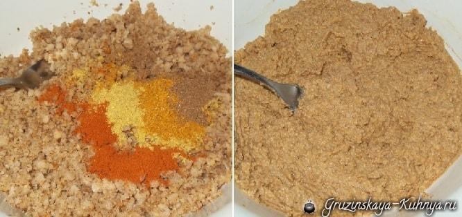 Красный болгарский перец с орехами (3)
