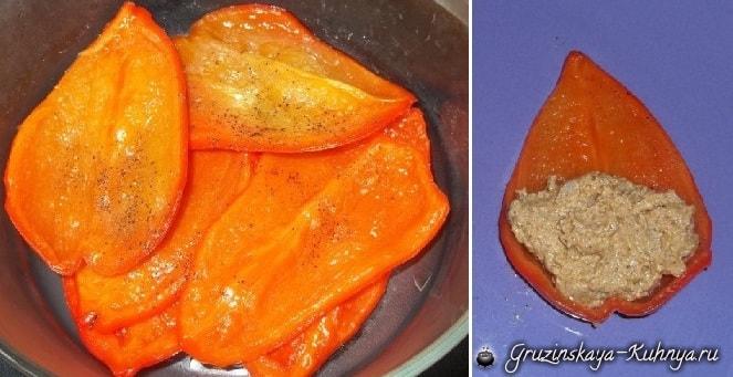 Красный болгарский перец с орехами (5)