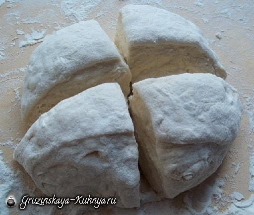 Кубдари - грузинский пирог с мясом (16)