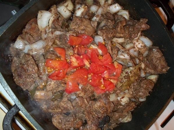 Куриная печень с красным вином и сванской солью (5)