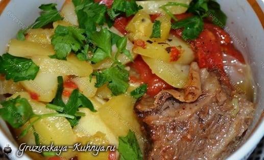 Рецепт ДАМЛАМЫ с говяжьими ребрышками (5)