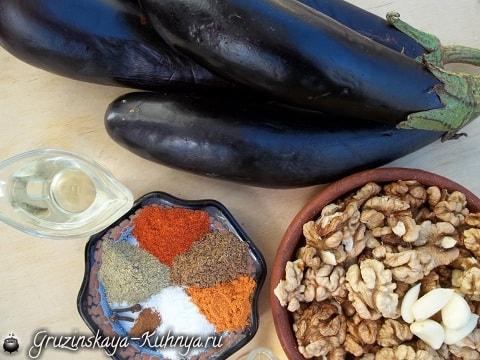 Рецепт САЦИВИ с баклажанами (5)