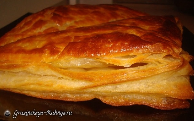 Рецепт слоеного теста по-грузински (3)