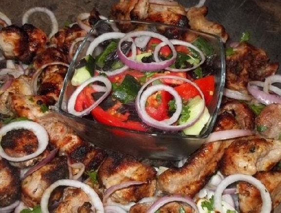 Шашлык из свинины в маринаде из мацони (10)