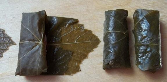 Долма из виноградных листьев по-грузински (6)