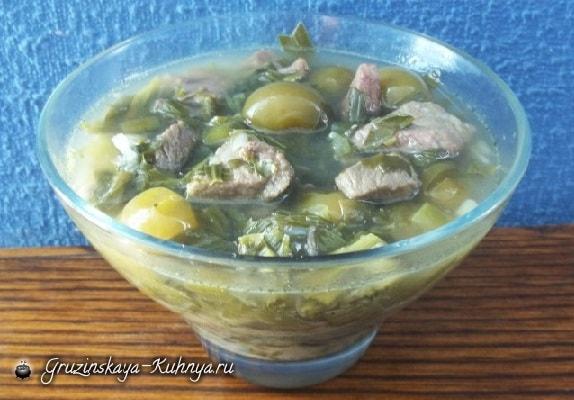 Чакапули из говядины по-грузински. Рецепт (2)