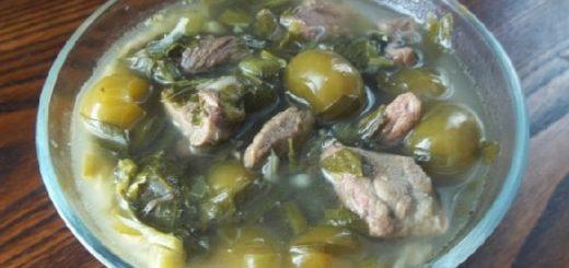 Чакапули из говядины по-грузински. Рецепт
