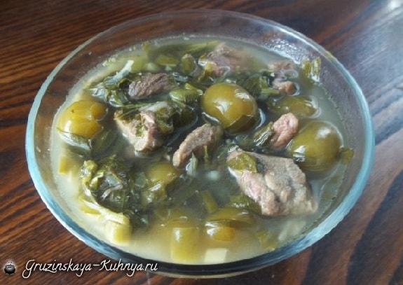 Чакапули из говядины по-грузински. Рецепт (4)