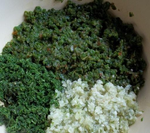 Грузинская зеленая аджика. Рецепт (5)