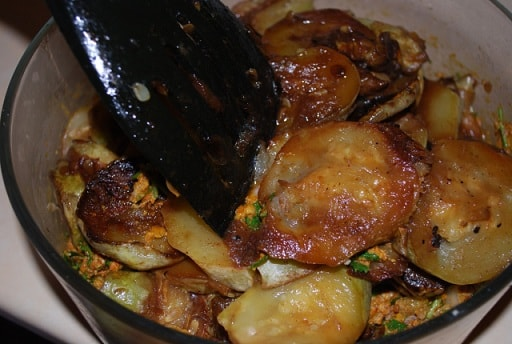 Кабачки с грецкими орехами по-грузински (2)