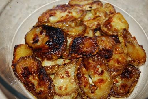Кабачки с грецкими орехами по-грузински