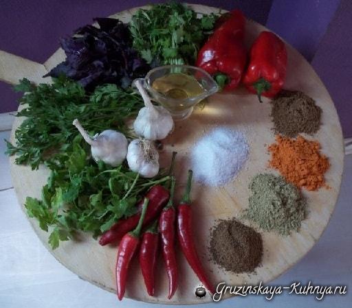 Рецепт горькой мегрельской аджики (7)