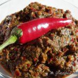 Рецепт горькой мегрельской аджики