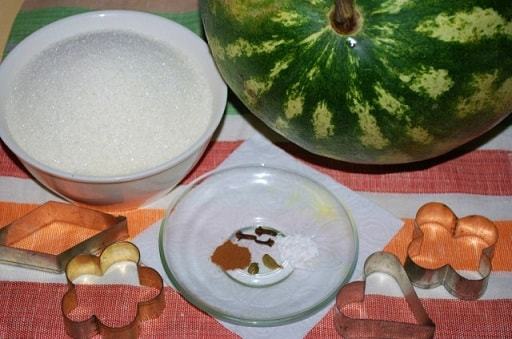 Арбузное варенье. Пошаговый рецепт (8)