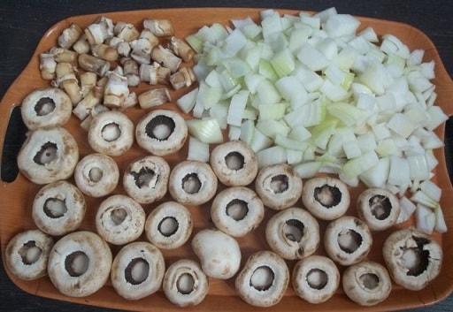 Чашушули из грибов и молодого картофеля (10)