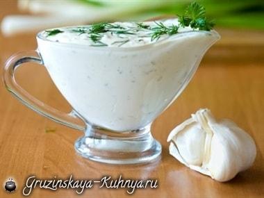 Чесночный соус. Рецепт (2)