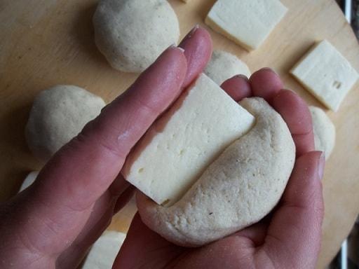 Чвиштари с сыром. Мегрельский рецепт