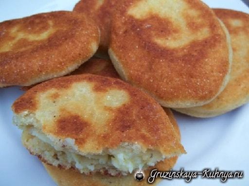 Чвиштари с сыром. Мегрельский рецепт (9)