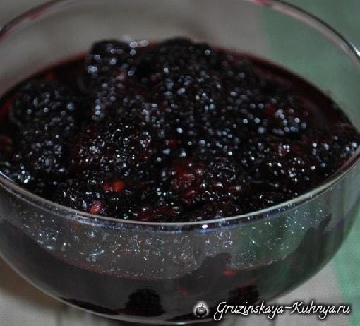 Ежевичное варенье. Пошаговый рецепт (5)