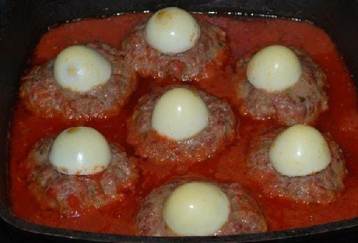 Фрикадельки в томатном соусе по-грузински (7)