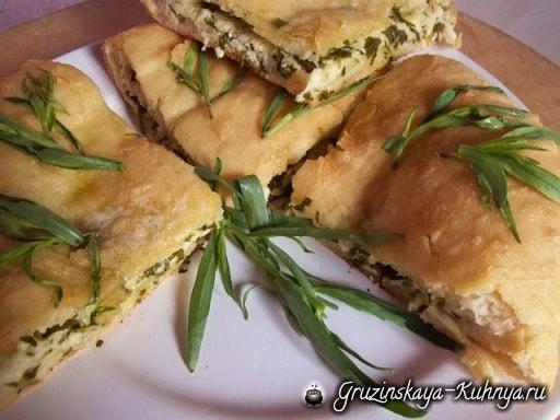 Хачапури с тархуном. Пошаговый рецепт (9)