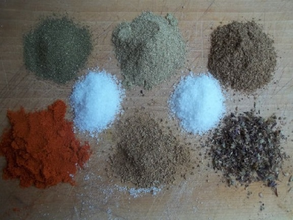 Как приготовить абхазскую смесь специй (3)