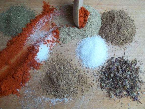 Как приготовить абхазскую смесь специй (4)