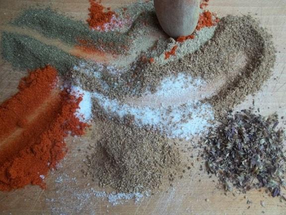 Как приготовить абхазскую смесь специй (5)