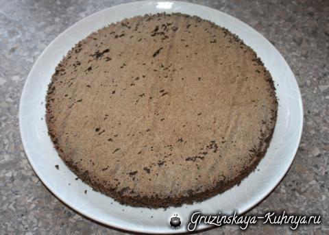 Клубничный торт с маком и творогом (4)