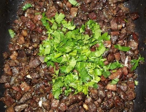 Кучмачи из свиных потрохов. Пошаговый рецепт (3)