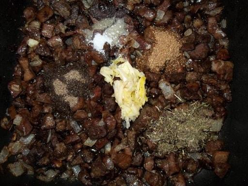 Кучмачи из свиных потрохов. Пошаговый рецепт (4)
