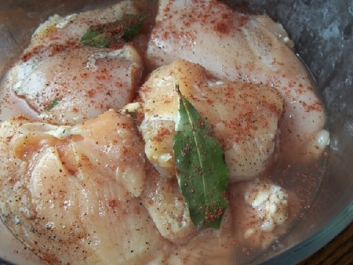 Куриные грудки в ореховом соусе баже (4)