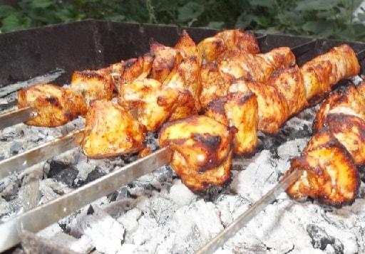 Куриный шашлык по-грузински (2)