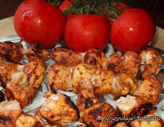 Куриный шашлык по-грузински (3)