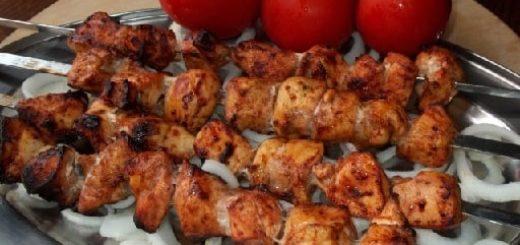 Куриный шашлык по-грузински