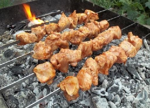 Куриный шашлык по-грузински (6)