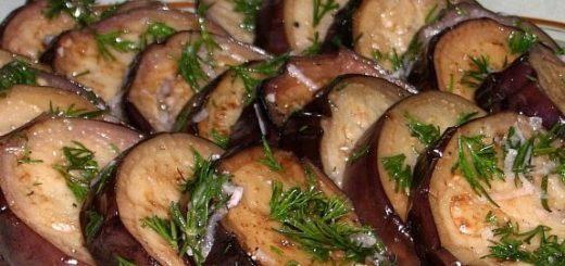 Маринованные баклажаны. 3 рецепта
