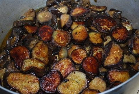 Маринованные баклажаны с красным перцем (7)
