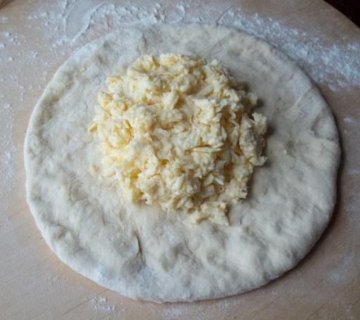 Мегрули хачапури - пошаговый рецепт (4)