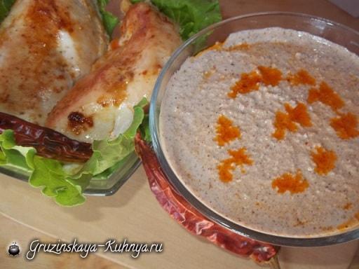 Ореховый соус БАЖЕ с аджикой (4)