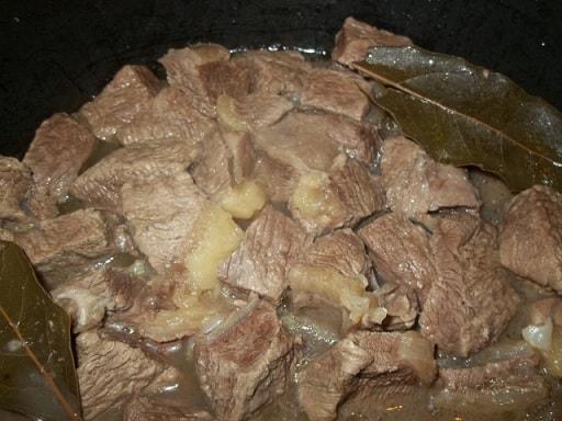Остри или тушеная говядина по-грузински (10)