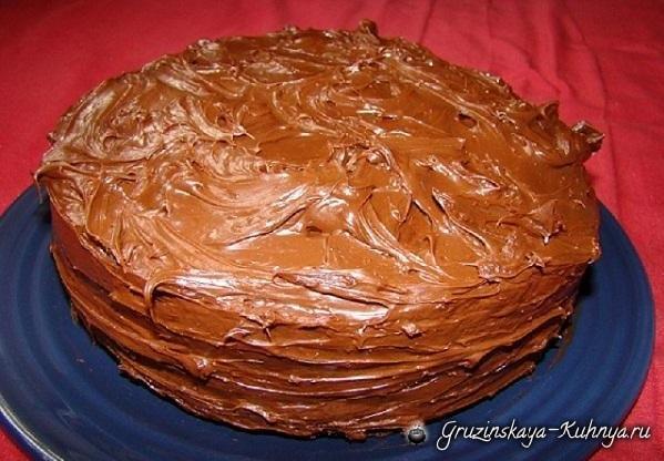 Шоколадный торт. Рецепт